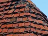 Dach kościoła parafialnego przed remontem - 2005 r (3)