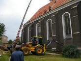 Remont dachu kościoła parafialnego - 2007 r (7)