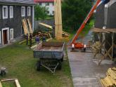 Remont dachu kościoła parafialnego - 2007 r (2)