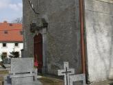 Elewacja kaplicy św. Barbary przed remontem (2)