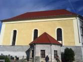 Elewacja kaplicy św. Barbary w trakcie remontu (4)