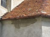 Dach kaplicy św. Barbary przed remontem (2)