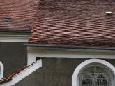 Dach kościoła parafialnego przed remontem - 2005 r (6)