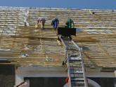 Remont dachu kościoła parafialnego - 2007 r (12)