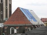 Dach kościoła parafialnego przed remontem - 2005 r (8)