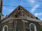 Remont dachu kościoła parafialnego - 2007 r (13)