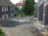 Remont chodnika wokół kościoła 2008 r (10)