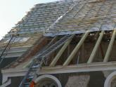 Remont dachu kościoła parafialnego - 2007 r (8)