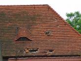 Dach kaplicy św. Barbary przed remontem (24)
